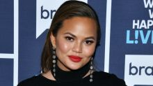 Pregnant Chrissy Teigen is giving away her Oscar dress so she can eat tacos