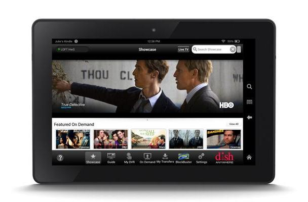 Dish's TV streaming app is now available for newer Kindle Fire tablets