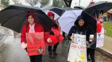 Los Angeles Parents Are Scrambling For Child Care As Teachers Strike