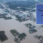 Woman falls to her death from rescue helicopter during Japan typhoon Hagibis