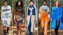 London fashion week: Burberry takes online show to the British countryside