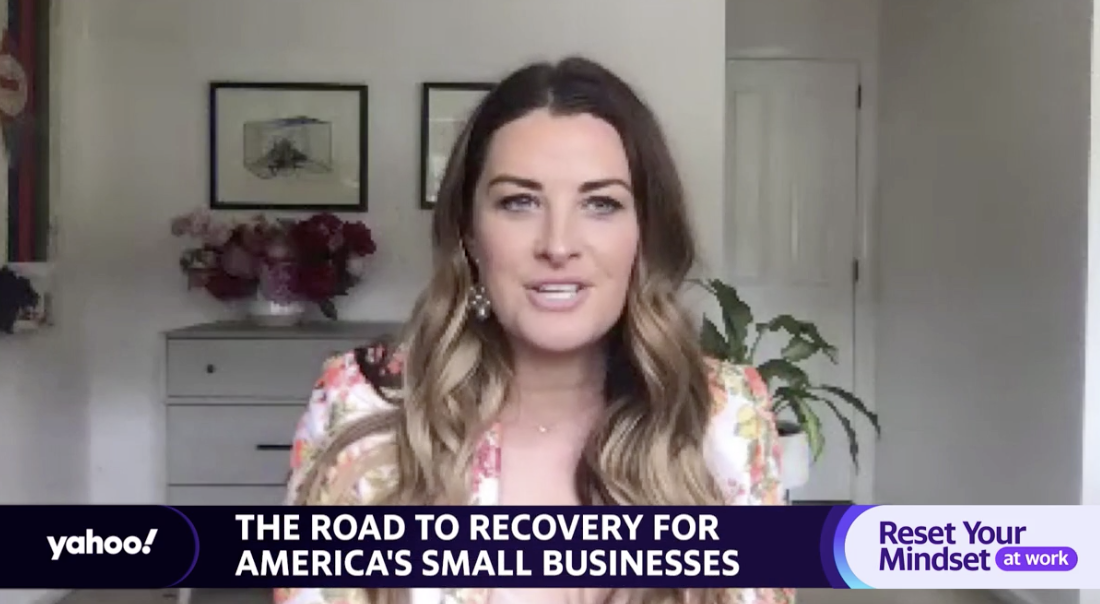 Small-business owner says she succeeded by going from 'tremendous fear' to 'new normal'