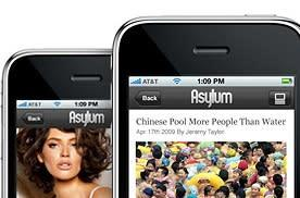 Asylum app launches, dudes everywhere smile