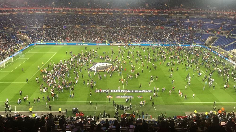 Besiktas se dédouane au lendemain des incidents au Parc OL