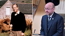 Scottish Green co-leader highlights Prince Philip's love of 'bloodsports' and his 'extreme wealth' during tribute