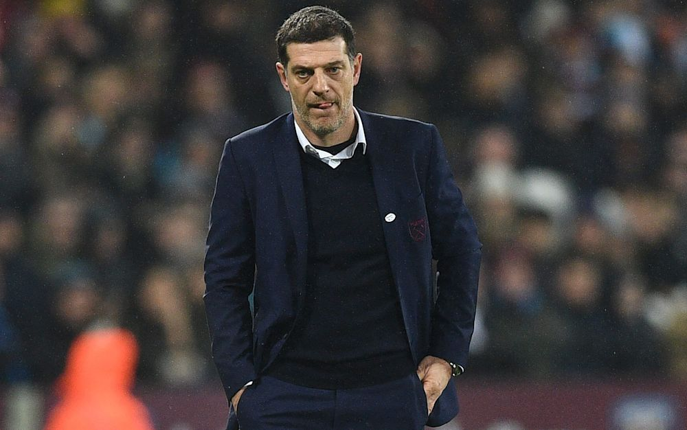 Slaven Bilic has endured a tough season  - AFP or licensors