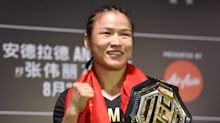 Zhang Weili says Joanna Jedrzejczyk has to wait in line for a title shot