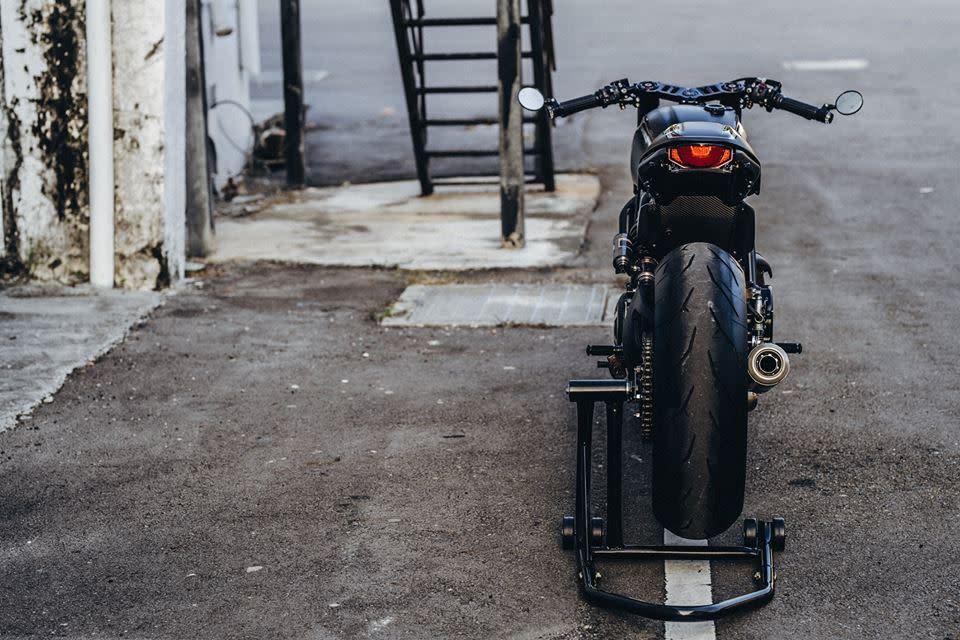 源自台灣的咖啡風:DUCATI SCRAMBLER FROM ROUGH CRAFTS