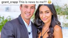 'This is news to me': Love Island's Grant shocked at Tayla's split admission