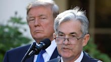 Trump compares Fed Chair Powell to China's Xi