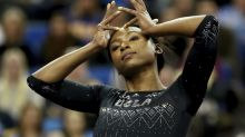 UCLA gymnast's Beyoncé-inspired routine goes viral one year after former teammate broke the internet