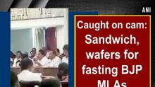 Caught on cam: Sandwich, wafers for fasting BJP MLAs
