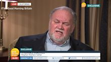 Thomas Markle says Prince Harry should 'man up'
