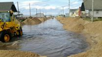 Outer Banks businesses try to dry out