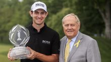 Cantlay wins PGA's Memorial in a playoff