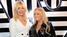 Spice Girl Emma Bunton and Holly Willoughby shared kiss, Mel B lets slip
