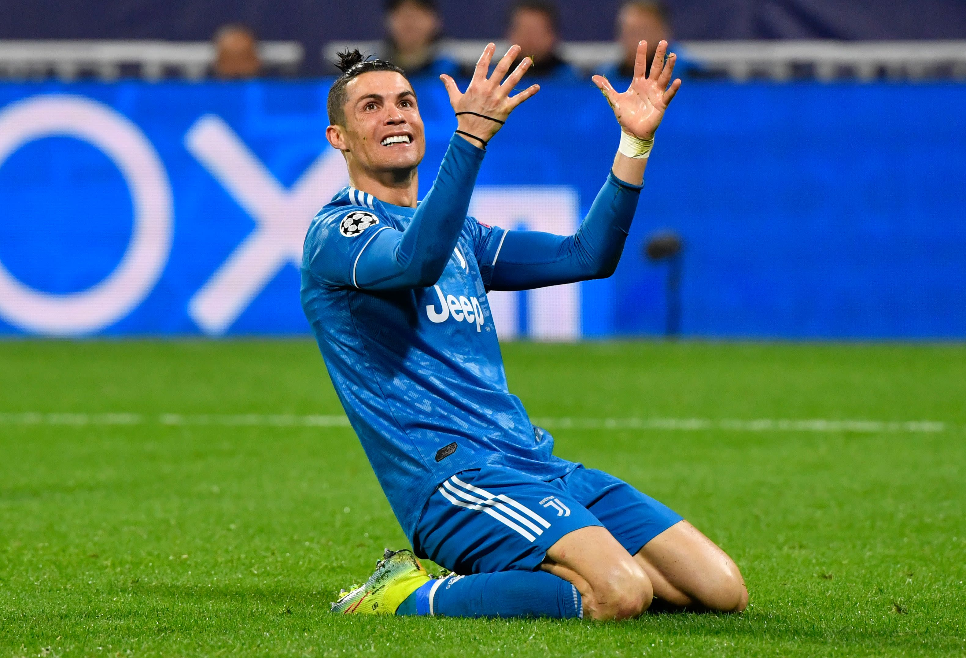 Champions League Cristiano Ronaldo Juventus Lose To Lyon