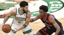 10 things: Shorthanded Raptors rain 21 threes, but Celtics still prevail