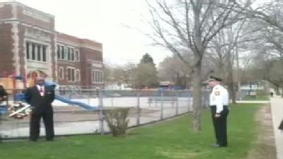Raw Video: Wreath-Laying Ceremony For Alexis Patterson