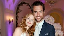 Jessica Chastain and Gian Luca Passi de Preposulo just got married in Italy