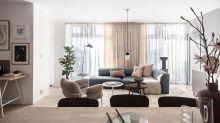 輕柔舒緩的居家格局,就以輕淺中性色打造