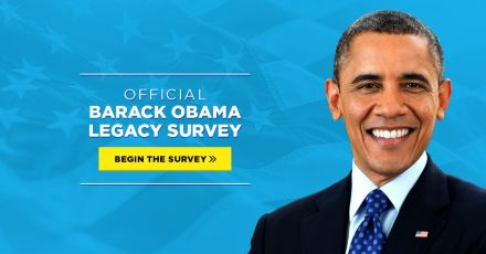 Official Barack Obama Legacy Survey