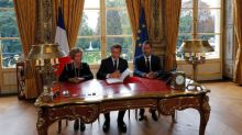 Macron signs French labor reform decrees