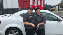 KFC gifts car to single mom who walked to work for over a year: 'I feel so blessed'