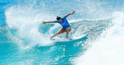 Surf - CT - Gold Coast - Gold Coast : Johanne Defay en quarts, Jérémy Florès et Joan Duru out