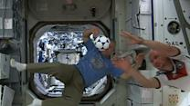 Raw: Space Station Crew Ready for World Cup