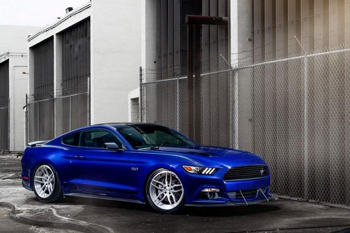 Adv 1 S Blue Devil Ford Mustang Is Demonically Cool