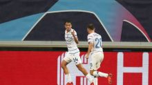 Dynamo edge 10-man Gent, Molde fight back in playoff first legs