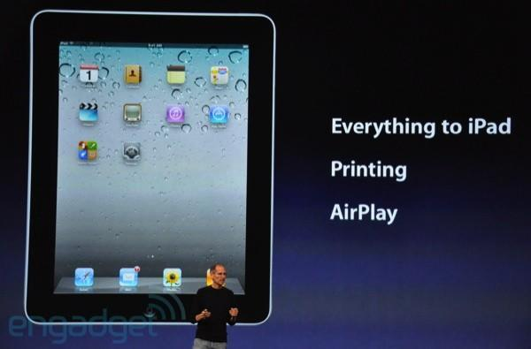 Apple demos iOS 4.2, features AirPlay media streaming