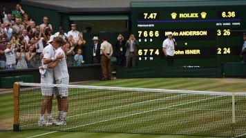 Anderson beats Isner in epic men's semifinal