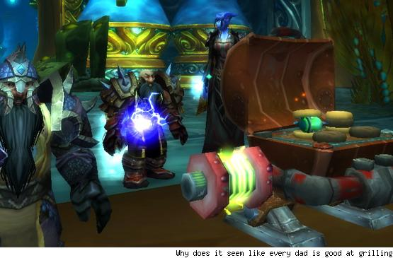 Breakfast Topic: What type of character would your father play in WoW?