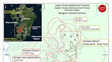 Japan Gold Expands the Barrick Alliance Gumyo Project in the Southern Kyushu Epithermal Gold Province