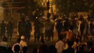 Raw Video: Unrest continues in Cairo