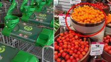 Woolworths customer issues store plastics challenge