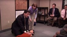 Man Saves Woman's Life With CPR He Learned From An Episode Of 'The Office'