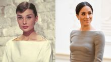 9 clichés qui prouvent que Meghan Markle s'inspire des looks d'Audrey Hepburn