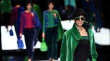 Milan's fashion week wraps up with Armani's expressive colors