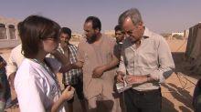 Bernard de La Villardière rencontre des réfugiés syriens en Jordanie, dimanche dans Enquête Exclusive