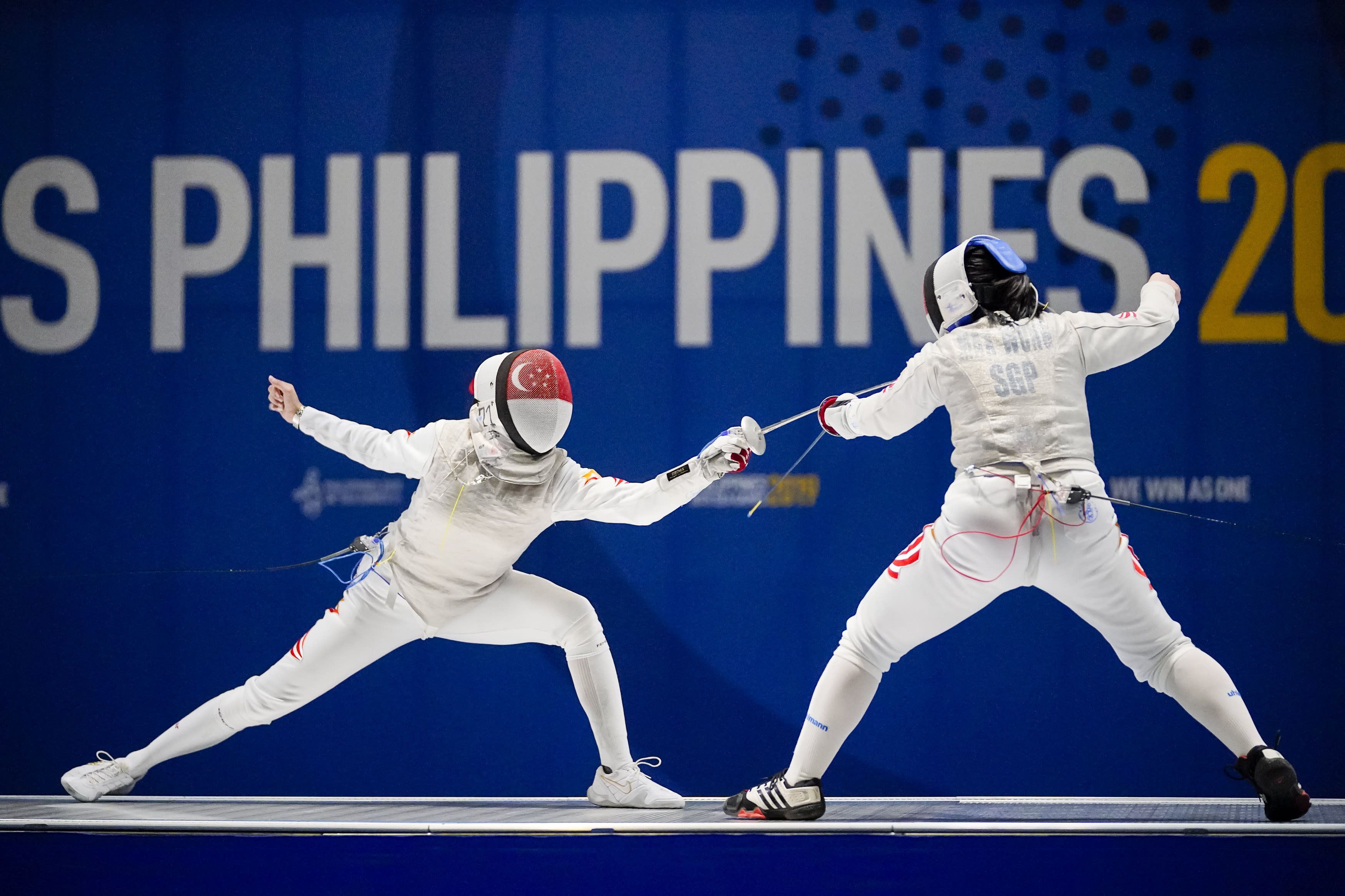 Berthier retains fencing title, Gong wins first-ever chess gold