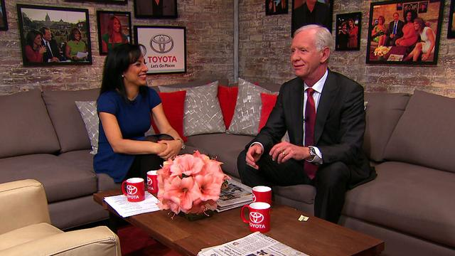 Capt. Sully Sullenberger talks Flight 370 in the Toyota Green Room