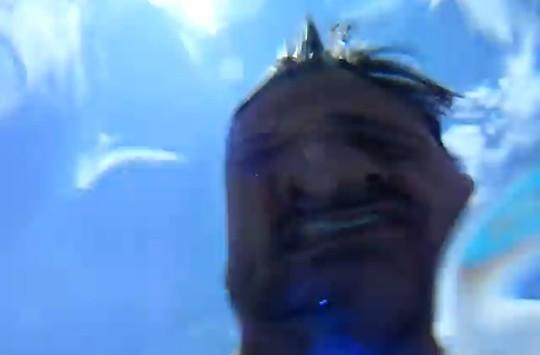 iPhone 3GS takes plunge in pool while shooting video... and lives to tell the tale