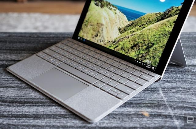 Microsoft's next Surface Go could up the screen size to 10.5 inches