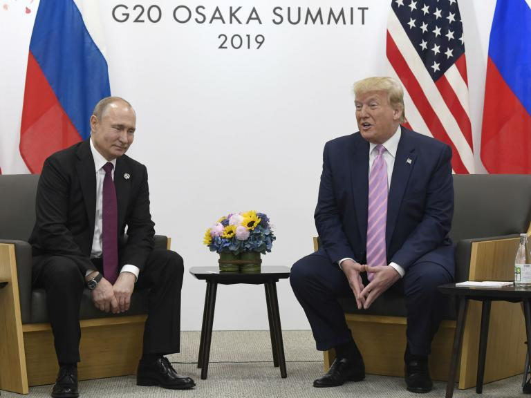 Trump news - LIVE: President tells Putin 'not to meddle' in