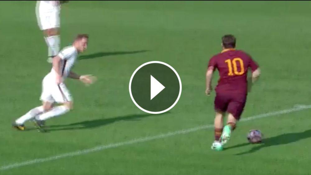 VIDEO: ¡No te retires nunca! Gol increíble de Totti