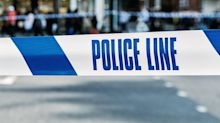 Three men shot in street in north London
