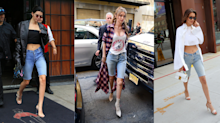 The denim Bermuda short is the celeb-approved trend we'll be rocking all summer long
